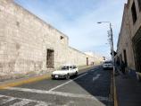 Calle Zela, arista del Complejo San Francisco.