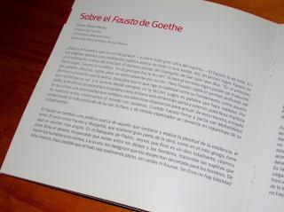 Ensayo sobre Fausto por Dante Dávila Morey.