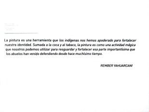 Rember Yahuarcani, artista huitoto-aimeni, reconocido internacionalmente