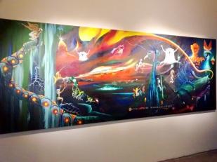 Pintura magistral de Rember Yahuarcani: ¿De dónde venimos?